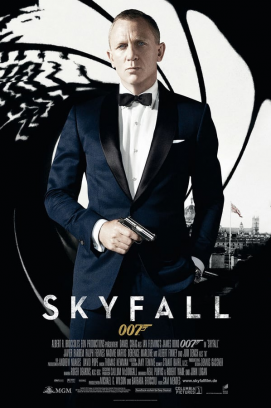 James Bond 007 Skyfall (2012)